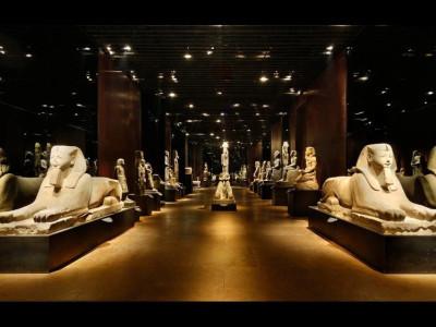 Torino - Museo Egizio, la Galleria dei Re