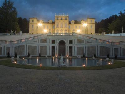Villa della Regina - notturno