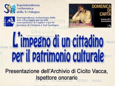 L'impegno di un cittadino per il patrimonio culturale
