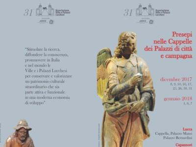 Lucca - Presepi nelle Cappelle dei Palazzi di citta' e campagna