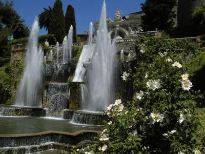 Villa d'Este_Fontana di Netuno