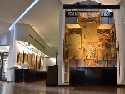 Sala dei Retabli. Pinacoteca nazionale di Cagliari