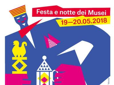 Locandina Festa Musei 2018