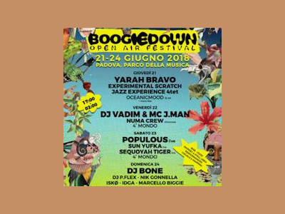 Boogie Down Festival - Day 3