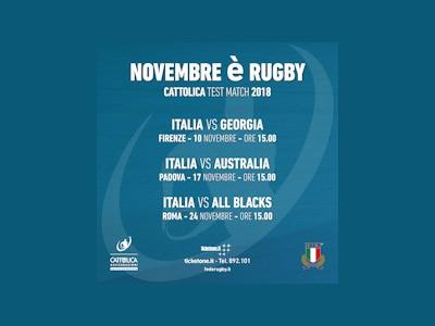 ITALIA VS AUSTRALIA - Cattolica Test Match 2018