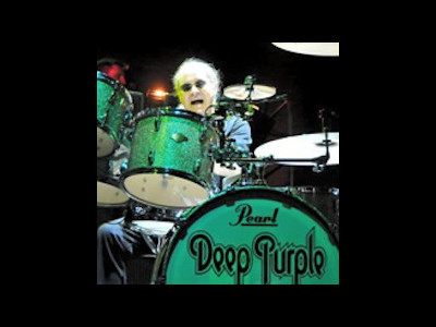 Ian Paice from Deep Purple