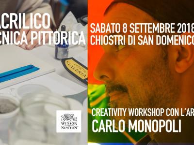 L'ACRILICO - Workshop di tecnica pittorica