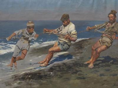 La sciavica (Studio) 1887 circa