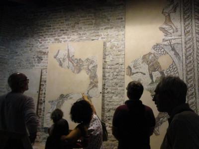 L'interno del cosiddetto Palazzo di Teodorico