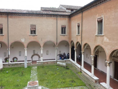Museo Nazionale di Ravenna, il primo chiostro