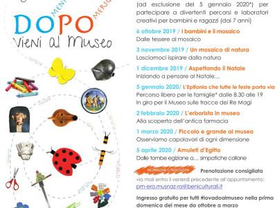 DoPo vieni al museo 2019-2020