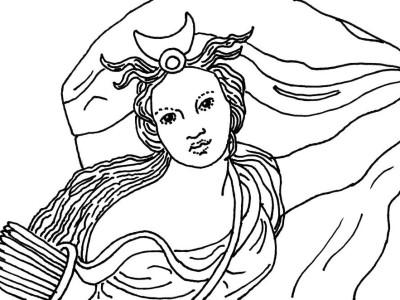 Diana, dea della caccia