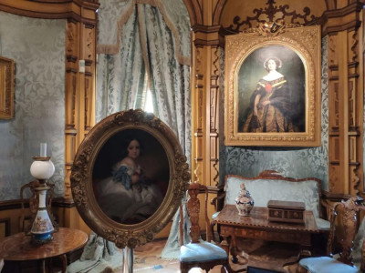 VIDEO Miramare. Il salottino di Carlotta