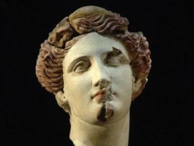 Testa femminile in terracotta - SALA XI-