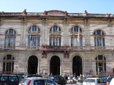 Vecchia sede Biblioteca all'interno dell'Università