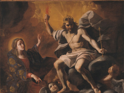 Mattia Preti, Cristo Fulminante