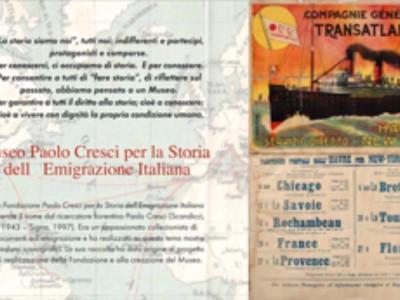 Lucca, MUSEO PAOLO CRESCI PER LA STORIA DELL'EMIGRAZIONE ITALIANA