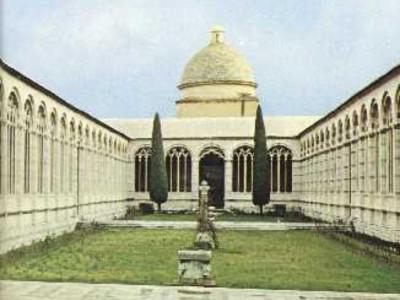 Pisa, CAMPOSANTO MONUMENTALE