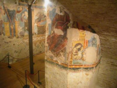 Siena, CRIPTA E SCALE DI SAN GIOVANNI