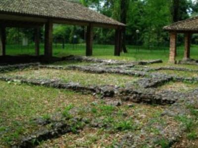 Resti della villa romana