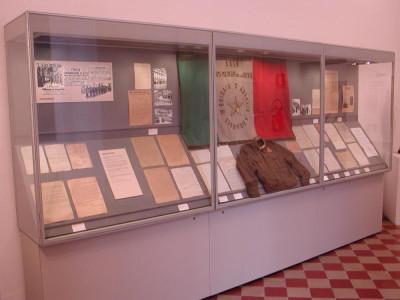 Lecco, Museo Storico: Sala virtuale dell'Industria e Sale della Resistenza