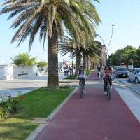 "Central waterfront is characterized by a stretch of cycle path connecting Cologna and Scerne di Pineto, integral part of ""Ciclovia Adriatica""."