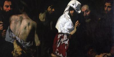 Aniello Falcone 1607 - 1656  Giacobbe contempla la tunica insanguina
