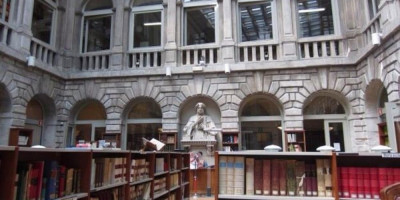 Sala di lettura stampati
