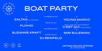 "OSS - ORTIGIA SOUND SYSTEM - ""BOAT PARTY"""