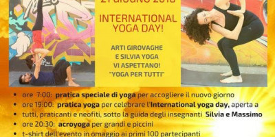 Giornata internazionale dello Yoga 2018 al Parco Trotter!