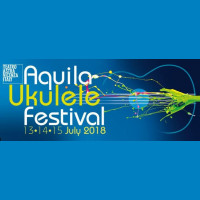 #aquilafestAround the world with the ukulele!It is with great pleasure that we present the 9th edition of the biggest Italian Ukulele Festival with the partecipation of international and local artists.A musical show in which jazz, rock, pop...