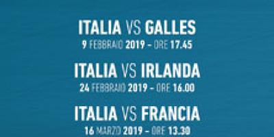 Abbonamento 2 Gare Six Nations Championship 2019