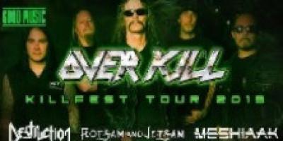 KILLFEST TOUR: Overkill + Destruction + Flotsam and Jetsam