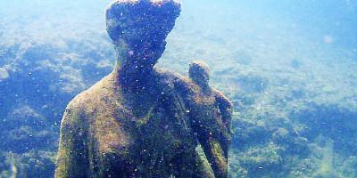 Antonia Minore, Ninfeo di punta Epitaffio. Parco archeologico della città sommersa di Baia