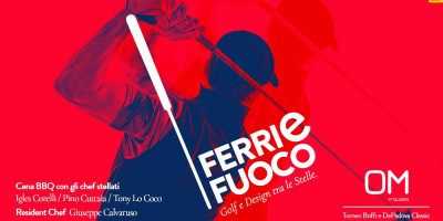 Ferri e Fuoco   Cena BBQ Gourmet con gli chef stellati