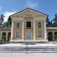 It was built by Andrea Palladio between 1554 and 1560 for the humanist Daniele Barbaro and his brother Marcantonio Barbaro, ambassador of Republic of Venice, transforming the old Medieval palace owned by the family into a splendid country...