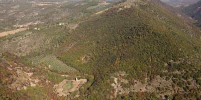 Veduta panoramica Bosco di San Francesco, Assisi, FAI-Fondo Ambientale Italiano; jpg; 5616 pixels; 3744 pixels