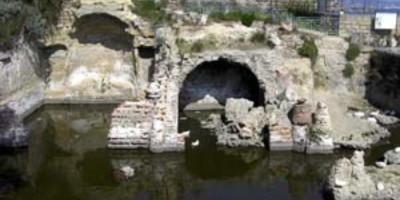 Sacello degli Augustali, veduta frontale