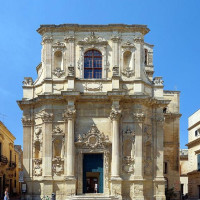 Its first foundation, commissioned by Bishop Tommaso Ammirato, dates back to 1429; it was later almost completely restored between 1687 and 1691. The construction of the Church is the work of Giuseppe Cino. The building has an octagonal...