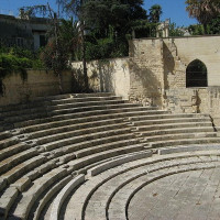 The Roman Theatre of Lecce is a Roman monument located in the historic center of the city. Of uncertain date, the Theater is assigned to the Augustan period, was accidentally discovered in 1929, during some works carried out in the...