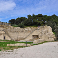 """The Archaeological-Environmental Park ofPosillipo (or Pausilypon, """"pain relief"""") is an archaeological site of the Posillipo neighborhood, reopened to the public since 2009. The archaeological remains of the Villa were built byPublio..."""