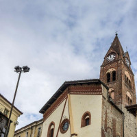 The Church of St. John is located near the central Conte Rosso Square. The lobby retains the fresco of the Madonna and Child with Saints Christopher, John the Baptist and Antony Abate, and a series of scenes such as the Visitation, a Holy...