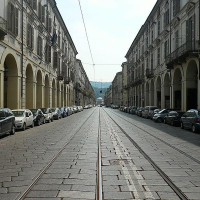 Via Po it is one of the main streets of Turin. Connects the central Castle Sqaureto Vittorio Veneto Square, and is characterized by the presence of typical arcades under which are many shops, libraries and, among thers, the historic...
