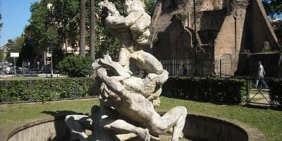 Fontana delle najadi e Ninfeo di Alessandro