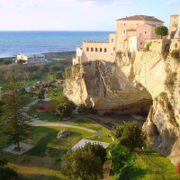 Amantea has been, since Byzantine period, important port on sea route between Naples and Reggio Calabria. Ancient boats or merchant vessels were admitted into the great cave at the center of Cave Park, a huge natural cave at the time...