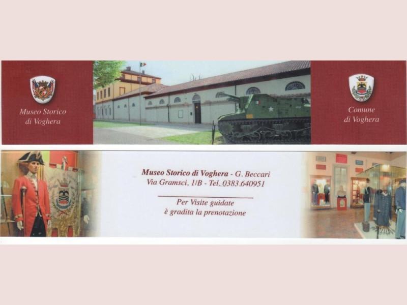 Voghera, Museo Storico Giuseppe Beccari