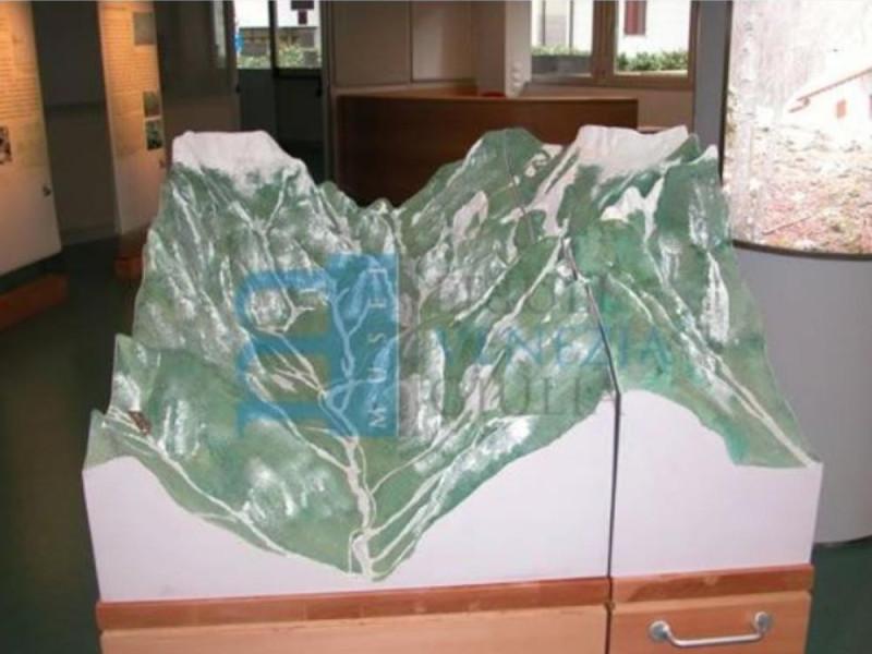 Plastico della Valle del rio Resartico