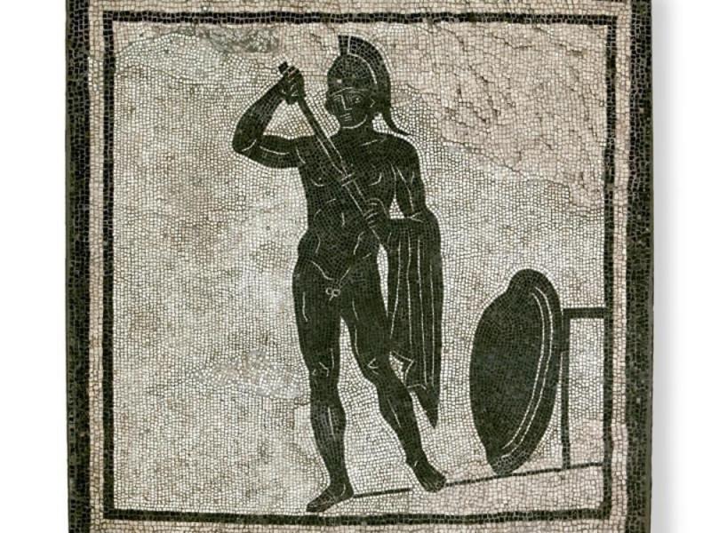 Mosaico con centauro da Parma