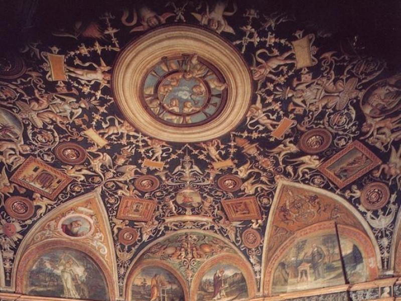 Camera di San Paolo Camera di San Paolo. Stanza dell'Araldi. Veduta della stanza con la volta