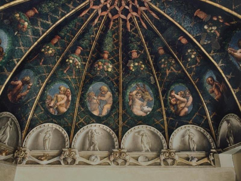 Camera di San Paolo Camera di San Paolo - Correggio, affreschi